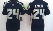 2016 Women Ladies Seattle Seahawks, Marshawn Lynch,Richard Sherman,,Russell Wilsons # TYLER LOCKETT,100% stitched logo(China (Mainland))