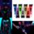 Хэллоуин Макияж Imagic Неоновый Цвет Кузова Картина Лицо Макияж Флэш Временные Татуировки Свечение В Темноте Краски Люминесцентные Масло