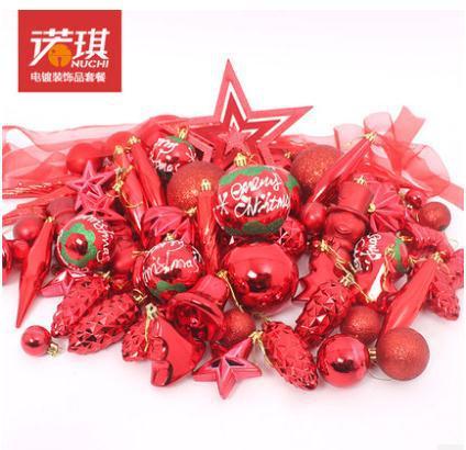 88pcs/set Christmas tree ornament kit 120cm-180cm Christmas tree decorations ornamento de la navidad for new year FREE SHIPPING(China (Mainland))