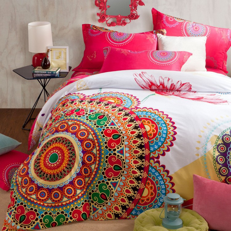 Mandala Couch Cover