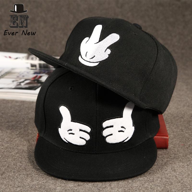 Fashion New Design Pure Color Finger Baseball Cap ...