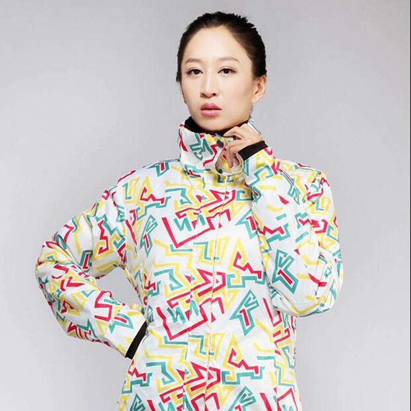 2016 Brand Women's Winter Outdoor Waterproof Breathable Sports Jacket Women Skiing Windbreaker Ski jackets(China (Mainland))