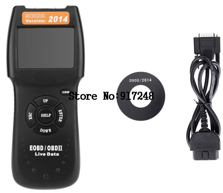 Free Shipping !High Quality Scanner D900 CANSCAN OBD2 Live PCM Data Code Reader Auto Scan Tools OBD2-012 Car Diagnostic Tool(China (Mainland))