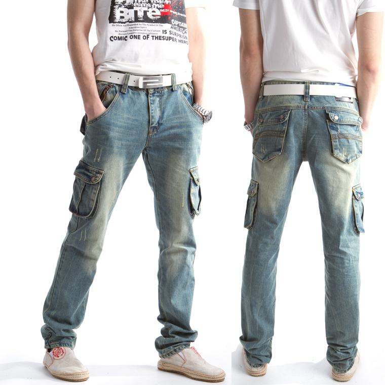 mens cargo jeans - Jean Yu Beauty