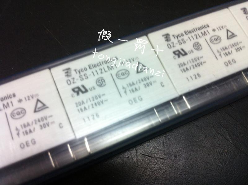 [SA]Absolutely original : TYCO Tyco relay OZ-SS-112LM1 12V new original fake a penalty ten--50pcs/lot<br><br>Aliexpress