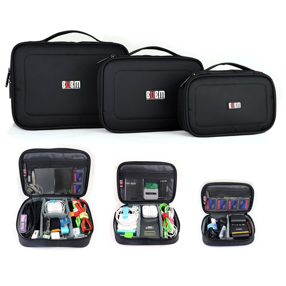 3PCS/Set BUBM Travel Digital Storage Bag Electroni...