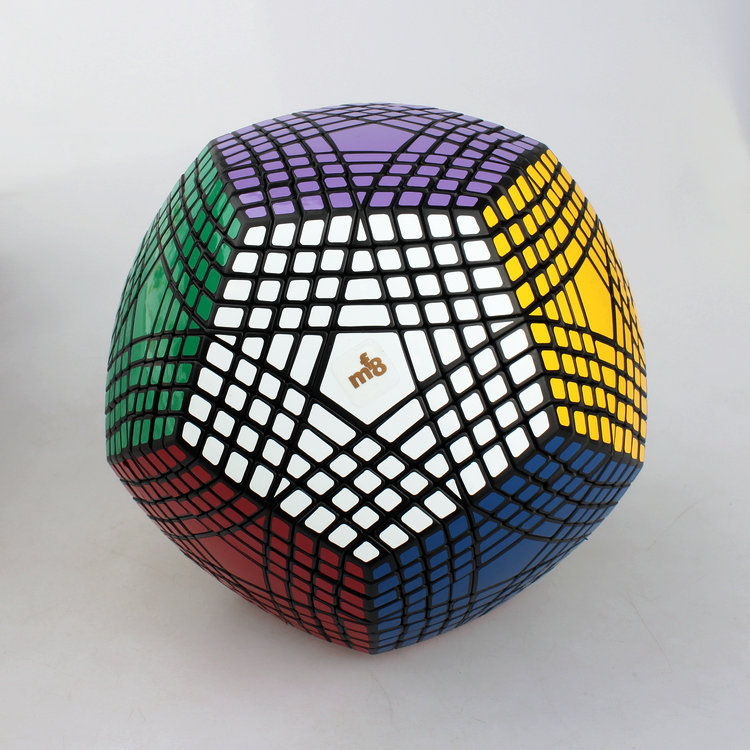 MF8 Petaminx Puzzle Cube 9 Layer Dodecahedron Teraminx Magic Cube Black(China (Mainland))