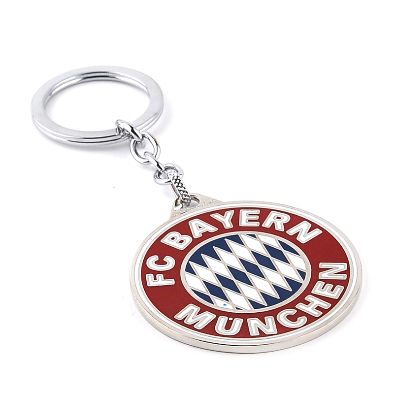 New hot fashion soccer keychain! German first division soccer league's top soccer clubs LOGO keychain fan favorite souvenir gift(China (Mainland))