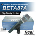 Free Shipping Real Condenser Microphone BETA87A Top Quality Beta 87A Supercardioid Vocal Karaoke Handheld Microfone Mike