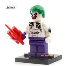 Single Sale Marvel Super Hero Minifigure Deadpool Suicide Joker Captain Panther X-men Building Blocks Toys(China (Mainland))