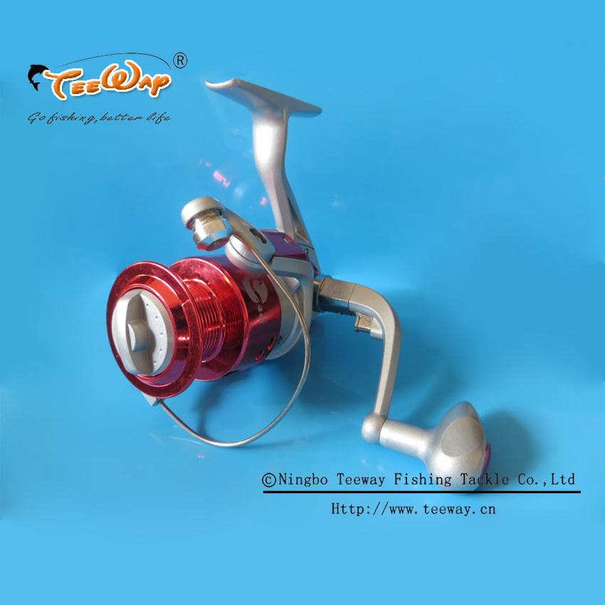 CS-4000H Teeway Brand Metal Spinning Fishing Reels Carp Ice Fishing Gear 5.2:1 Real 5BB Spool fishing tackle(China (Mainland))