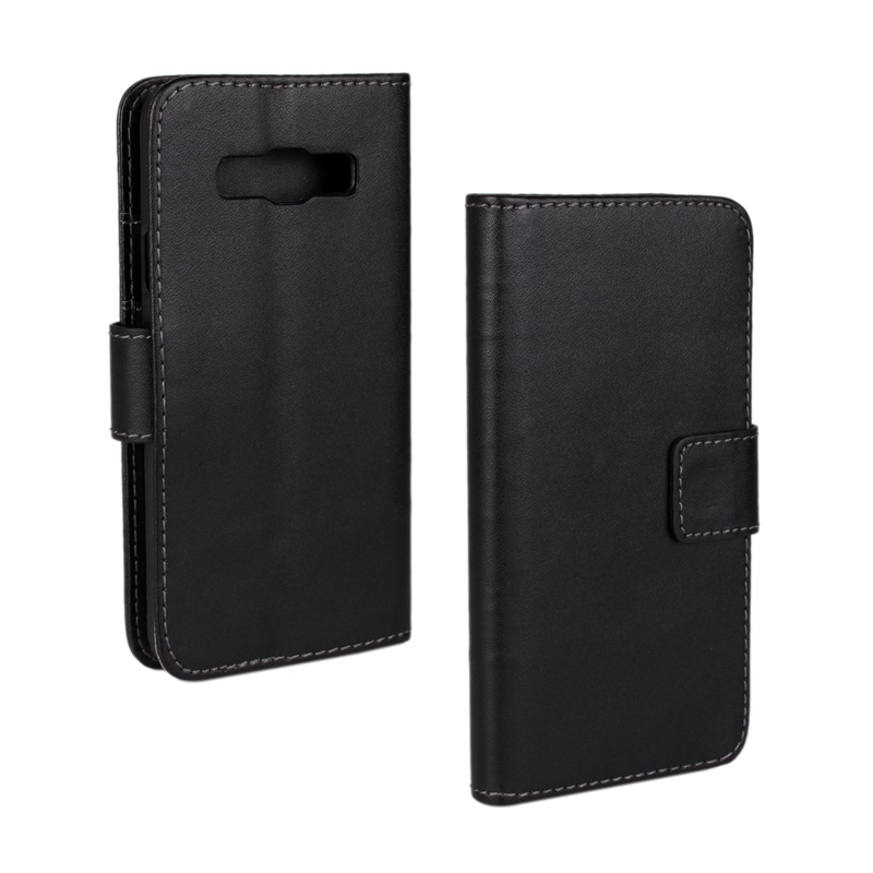 30 pcs/lot Card Slot Flip 100 Grain PU Leather Stand Wallet Case Cover Samsung Galaxy A3 A3000