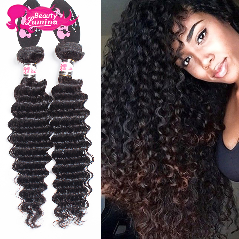 Grace Hair Products 4 Bundles And Closure Brazilian Deep Wave Bundles With Closure 7a Brizilian Virgin Hair With Closure Soft<br><br>Aliexpress