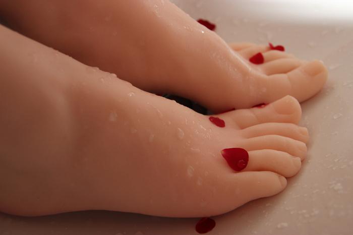 Toy doll footjob porn - Silicone feet sex toy foot worship silicone foot  modelfeminino fetish feet