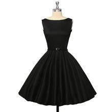 Женщины старинные платья 50 s ретро мода летнее платье одри хепберн Большой размер цветочный принт кинозвезды качели халат свободного покроя ну вечеринку платье