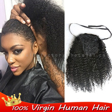 afro kinky curly ponytail