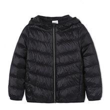 Balabala/зимняя куртка для девочек и мальчиков, модная детская куртка на утином пуху плотная одежда для детей на 20 градусов ниже нуля(China)