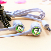 Anime My Neighbor Totoro Logo Stereo Deep Bass HIFI In-Ear Earphone Headset For MP3 MP4 MP5 Phone PC 3.5mm Plug