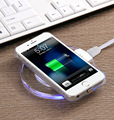 High Efficiency Magnetic Qi Wireless Charging Pad Power Station for Samsung Galaxy S7 Edge Note 5 S6 Edge Plus Qi Enabled Phone