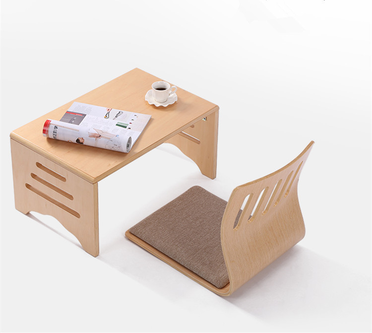 Modern Wood Folding Table Foldable Legs Rectangle 60*40cm Living Room Furniture Wooden Center Table Small Folding Coffee Table(China (Mainland))