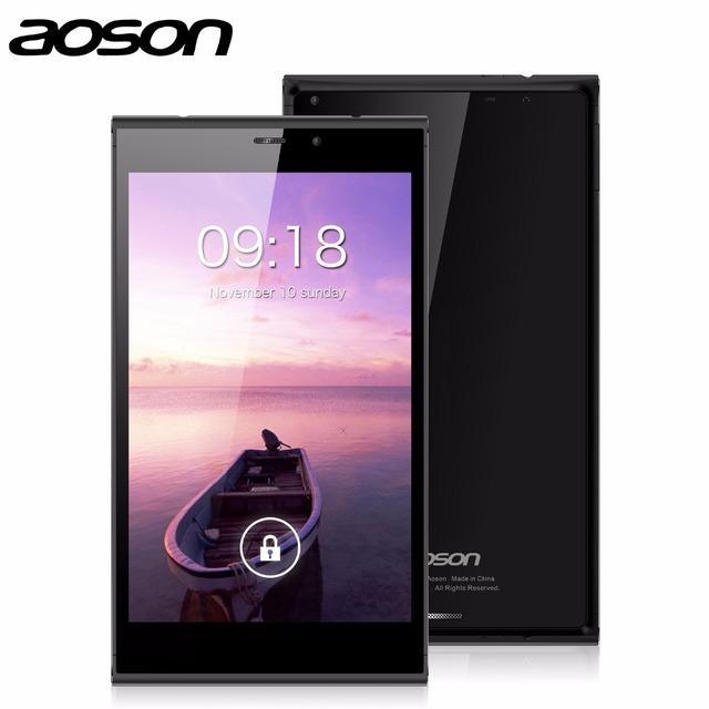 Aoson M706T 7 дюймов телефонный звонок таблетки две сим-карты Встроенный 3 Г 1 Г + 8 Г Четырехъядерный процессор 5-МП Камерой Bluetooth GPS Android Tablet PC