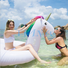 275cm Special Giant Unicorn Water Sports Pool Floating Swimming Row swimming ring