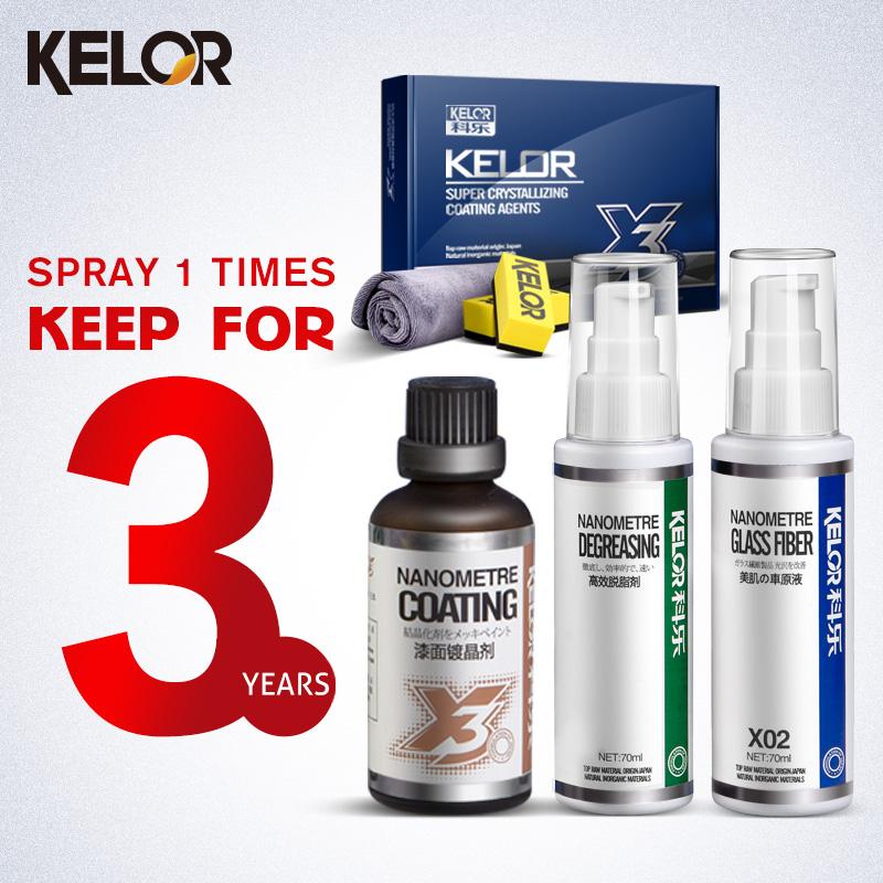 Kelor Paint Care Car-covers Glass Coating Car Wax Liquid Car Polish Fix It Car Paint Scratch Repair x3(China (Mainland))
