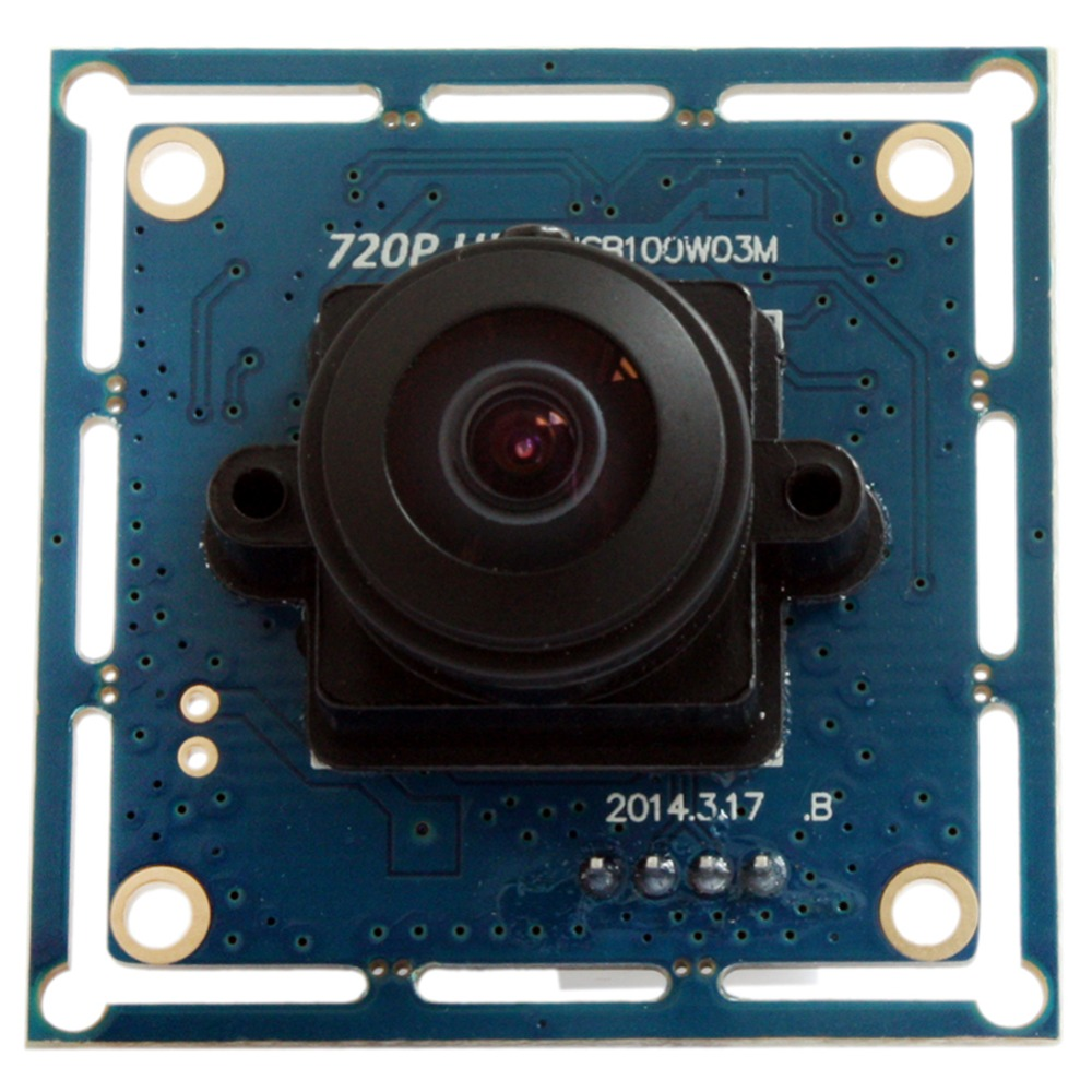 720p HD Wide Angle CMOS OV9712 camera usb2.0 170 degee fisheye security Camera Usb Webcam Camera Module ELP for Robotic Systems(China (Mainland))