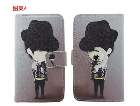 Star N8000/Star N9389/Star N9330 Case,Flip Leather Cartoon Painting Cover for Star N8000/N9389/N9330 Free shipping(China (Mainland))