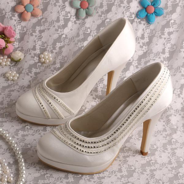 Women Celebrity Bridal Shoes High Heels 2015 Wedding Dropshipping(China (Mainland))