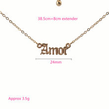 High Quality 2019 New Fashion Jewelry Gold Babygirl Letter Necklace Name Pendants Lovely Gift for the Mom(China)