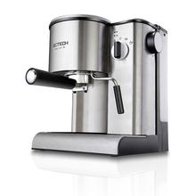 Semi automatic steam pressure stainless steel casing Italian household coffee machine Coffee - jwwish2 store