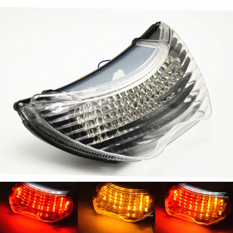 Motorcycle Integrated LED Brake Tail Light Turn Signals for CBR 600 F4 F4i CBR900RR 1999-2006 00 01 02 03 04 05 turn lights(China (Mainland))