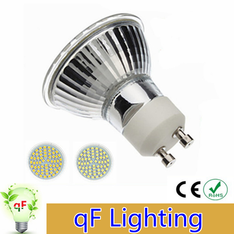 Best Price 1pcs Lot Gu10 3528 Smd 60 Led Pure White Warm White Spotlight Spot Lights Bulb Lamp