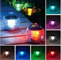 IP68 Solar 7 Color Float Light Garden Pond Lamp Floating Lights Solar Panel LED Lantern Garden