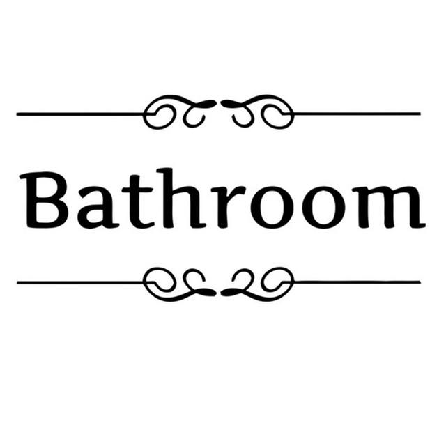 Bath Sticker Vinyl Art