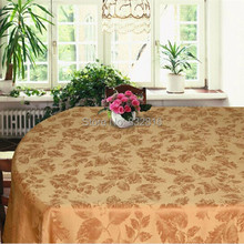 Popular Polyester Jacquard Rectangle Tablecloth Kitchen Dining Table Cloths Table Linen 132x178cm Free Shipping!(China (Mainland))