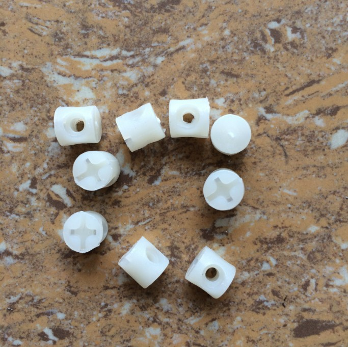 plastic hammer nut combo connectors Furniture Hardware / fittings / hammer nut(China (Mainland))