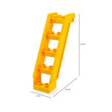 Большие частицы строительные блоки кирпичи аксессуары качели слайд зонтик окно лестницы игрушки для детей детский подарок с Duploeds(China)