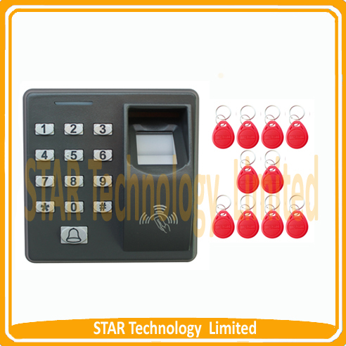 Biometric access control RF Scanner Sensor Code System Door Lock X7 M-F100 MF100 - STAR Technology Limited store