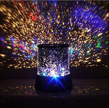 Flashing Colorful Sky Star Master Night Light  Novel Festival Gifts  Starry Star Projector Lamp Wall Ceiling Decor GS522