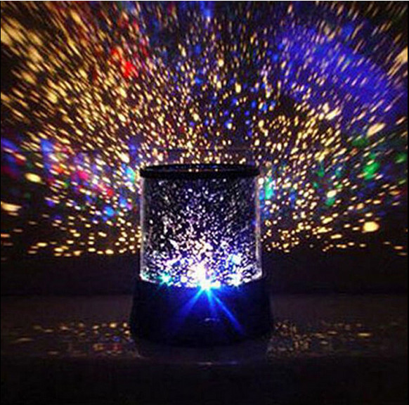 Flashing Colorful Sky Star Master Night Light Novel Festival Gifts Starry Star Projector Lamp Wall Ceiling Decor GS522(China (Mainland))
