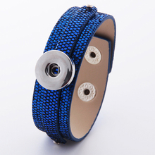 10 colors Watches Women One Direction Metal Snap Button Bracelet B209 (fit 18mm 20mm Snap) leather bracelet with beads for men