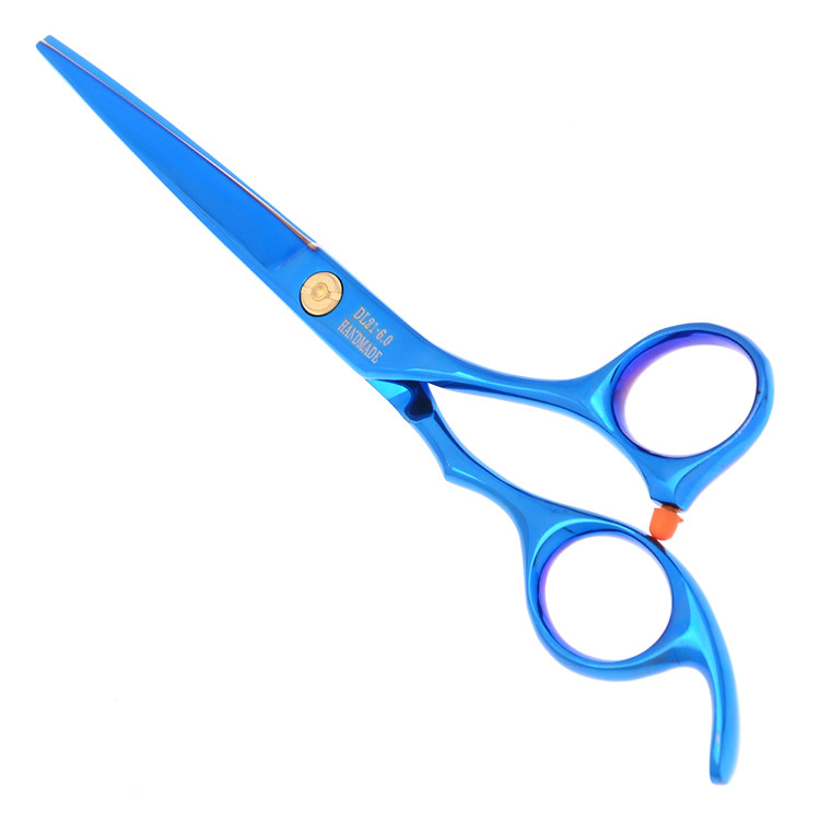 Blue Sakura Human Hair Scissors for Salon,6.0inch 5.5inch Hair Scissors Cutting Scissors/Shears,JP440C 1pcs/lot,LZS0094