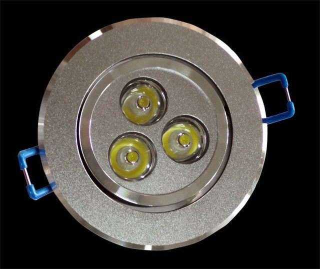 (1 pieces/lot) Wholesale & Retail hight power and tope brightness 3W led down light use for indoor  lighting