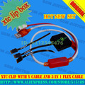 2016 Version xtc 2 clip xtc clip Box with 3 In 1 Flex Cable with Y