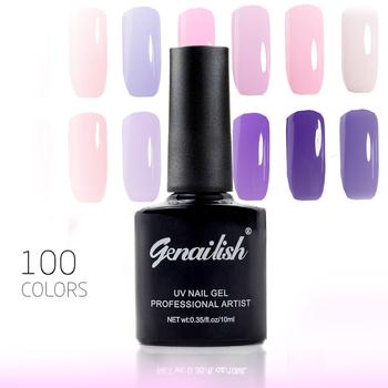 10ml/Pcs 100 Colors Gel Nail Polish UV Gel Nail Polish Long-lasting Soak-off LED UV Gel Color Hot Nail Gel Nail Art Tools-NG4