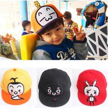 Spring Summer Kids Fashion Sunhat for Children Boys Girls Casual Cotton Caps Adjustable Hip Hop Snapback Sun Caps LH274(China (Mainland))