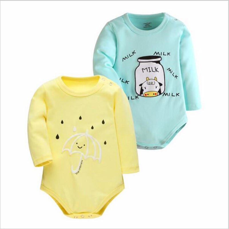 מוצר New Born Autumn Winter Baby Romper 2PCS Clothes