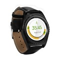 New round 3D touch Sports smart Watch Support SIM card Heart rate monitoring Bluetooth4 0 Fully